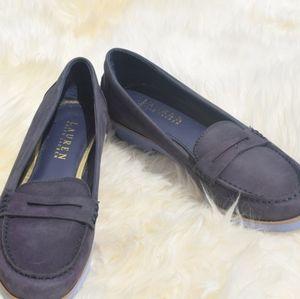 Lauren by Ralph Lauren suede loafers